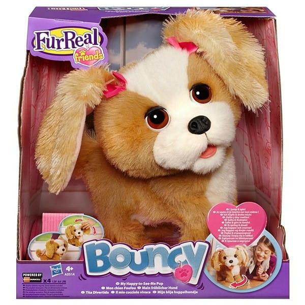 Купить Игрушка FurReal Friends Озорной щенок Bouncy (Hasbro) в интернет магазине игрушек и детских товаров