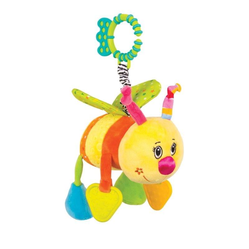 Игрушка-подвеска Happy Snail 14HS001PP Пчелка Жу-жу