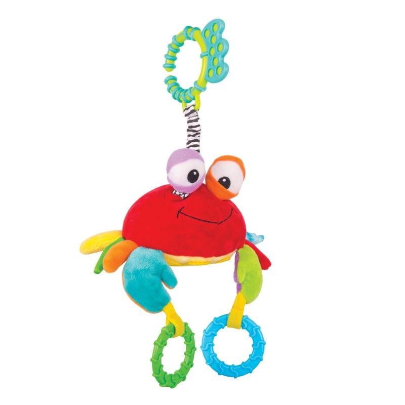 Игрушка-подвеска Happy Snail 14HS013PK Краб Чарми