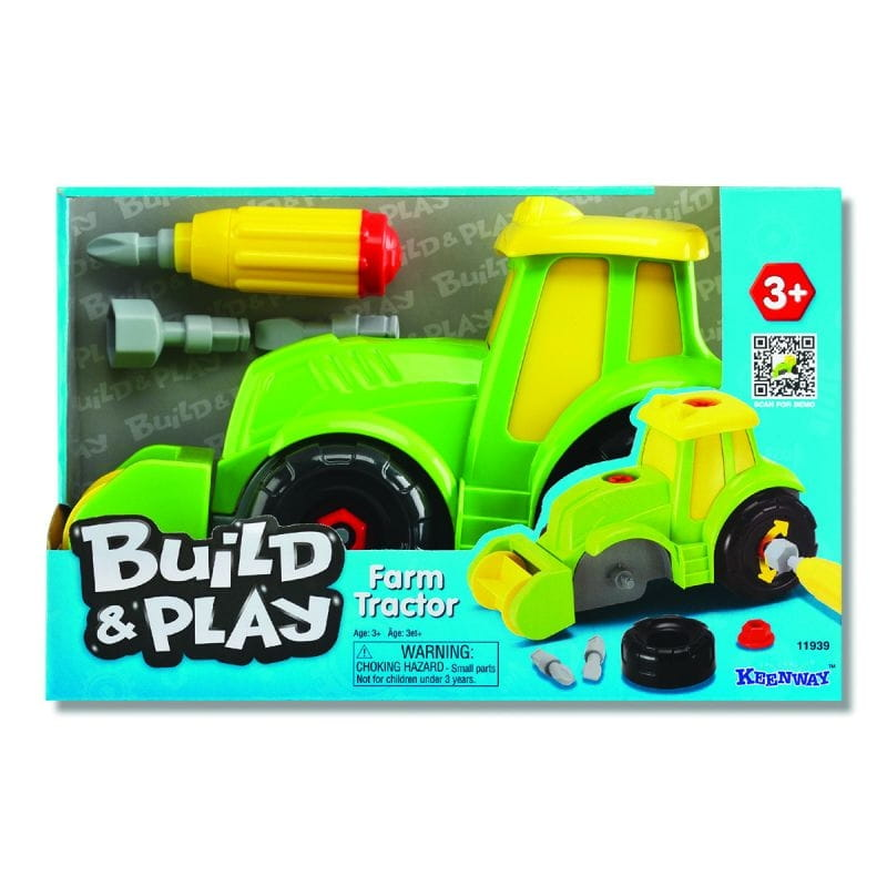 Игровой набор Build and Play Трактор (KEENWAY)