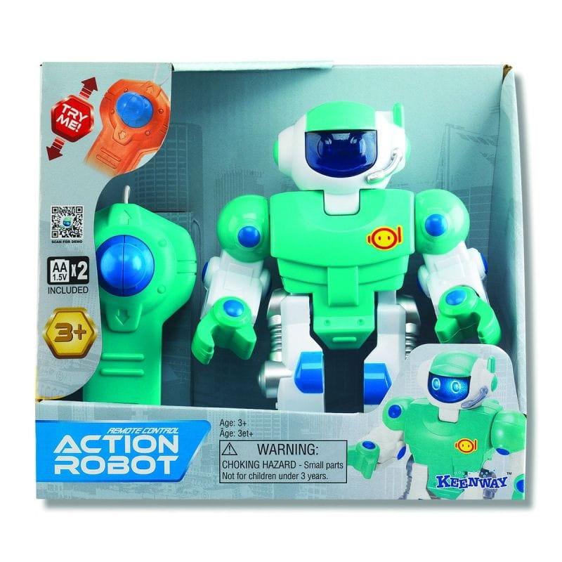 Радиоуправляемый робот Keenway Action - синий