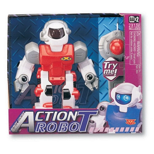 Радиоуправляемый робот KEENWAY Action - красный