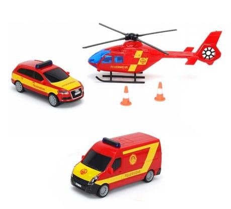 Игровой набор экстренной помощи Dickie 3314927 красный