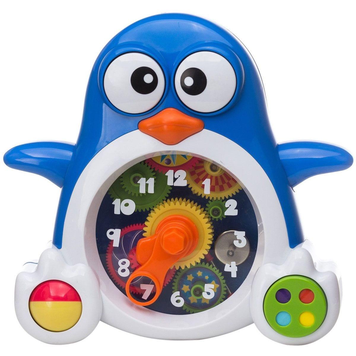 Интерактивная игрушка KEENWAY Пингвиненок-часы