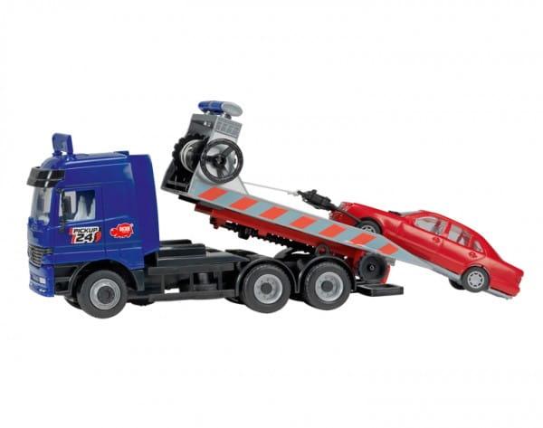 Купить Игровой набор Dickie Эвакуатор с лебедкой 27 см в интернет магазине игрушек и детских товаров