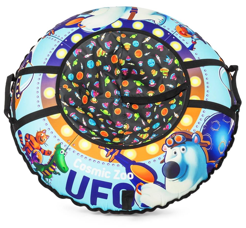 Тюбинг Cosmic Zoo 472063 UFO Синий медвежонок