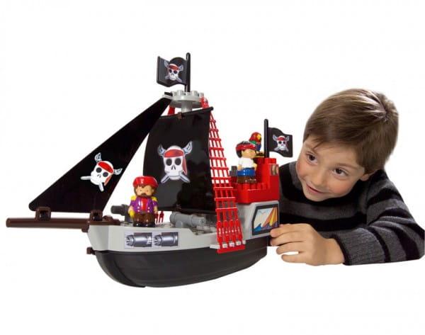 Конструктор Abrick Пиратский корабль - 29 деталей (Ecoiffier)
