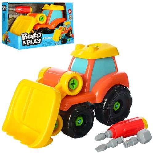 Игровой набор Build and Play Бульдозер (KEENWAY)