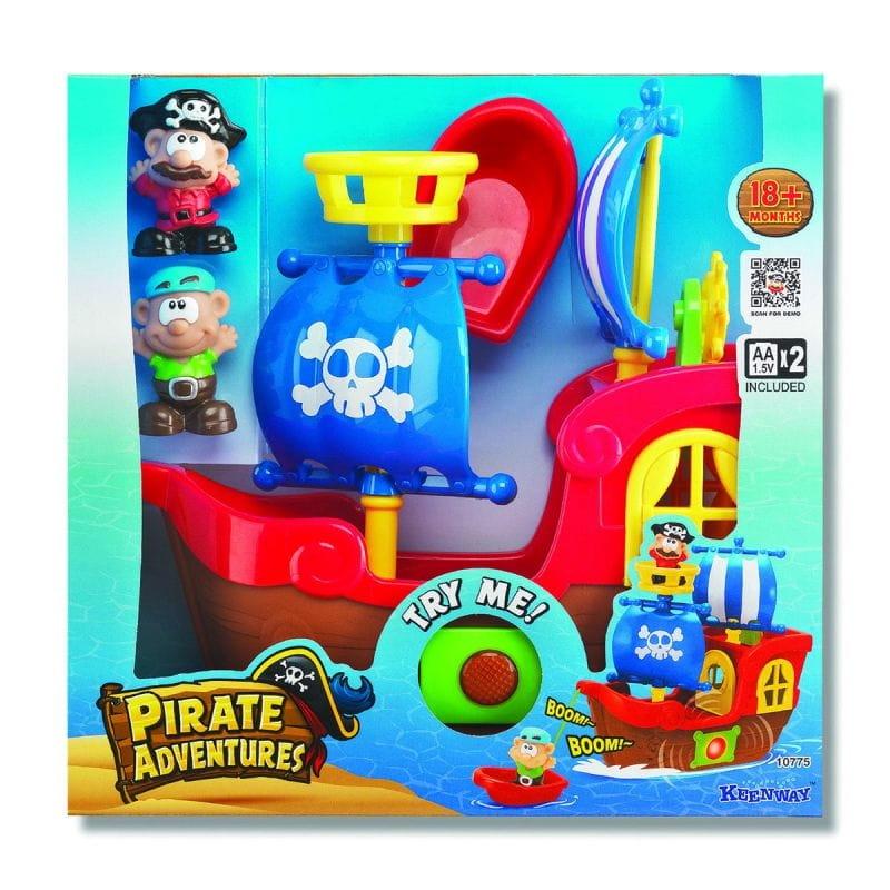 Игровой набор Keenway Приключения пиратов