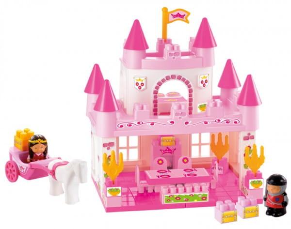 Конструктор Abrick Замок принцессы - 59 деталей (Ecoiffier)