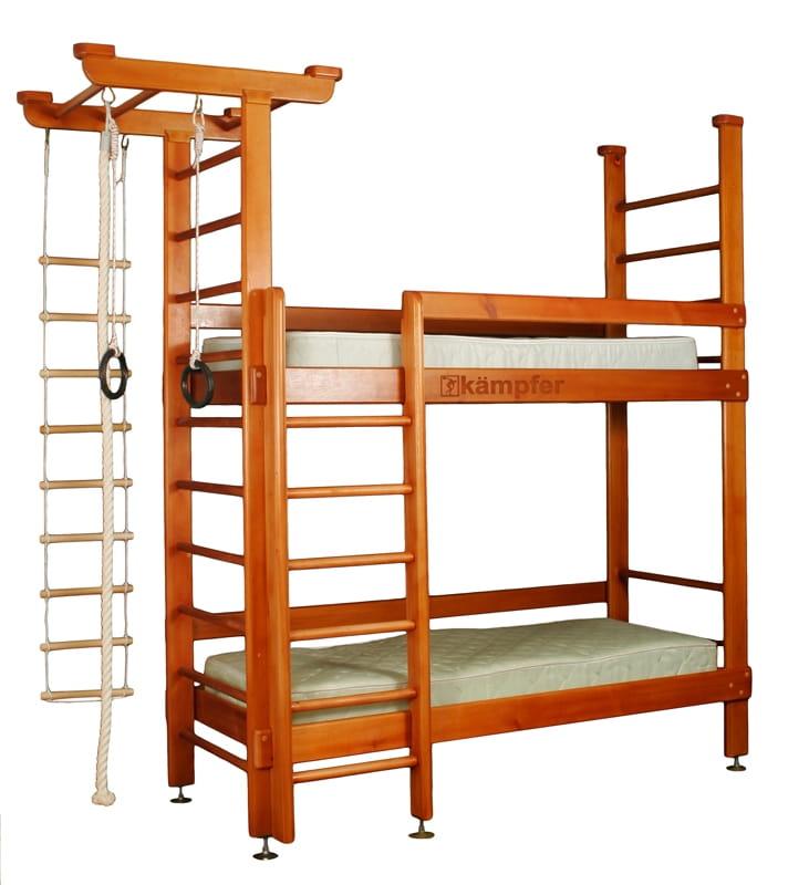 Двухярусная кровать KAMPFER Two dream - классический (3 м)