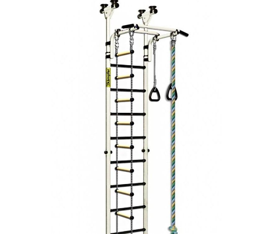 Детский спортивный комплекс Kampfer F0000000194 Strong kid Ceiling - белый антик-золото (высота +52 см)