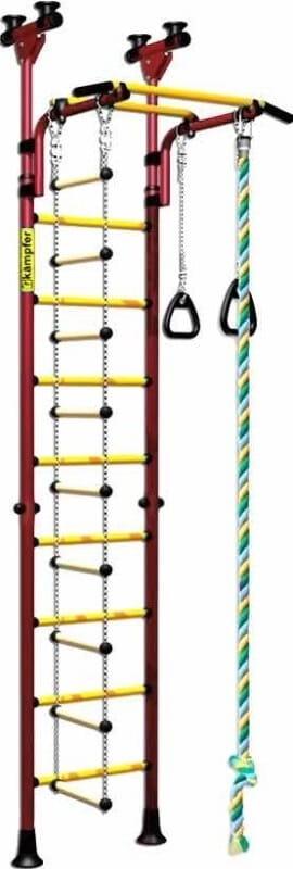 Детский спортивный комплекс Kampfer F0000000194 Strong kid Ceiling - красно-желтый (высота +26 см)