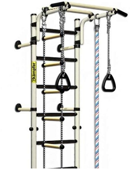 Детский спортивный комплекс KAMPFER Strong Kid Wall - белый антик-золото (высота +26 см)