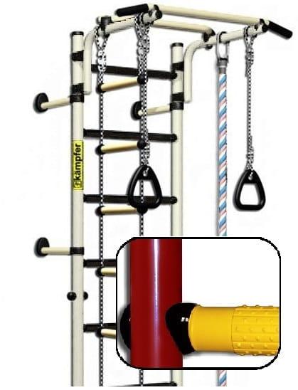 Детский спортивный комплекс Kampfer F0000000195 Strong Kid Wall - красно-желтый (высота +26 см)