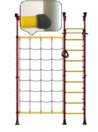 Детский спортивный комплекс KAMPFER Gridline Ceiling - белый антик-золото