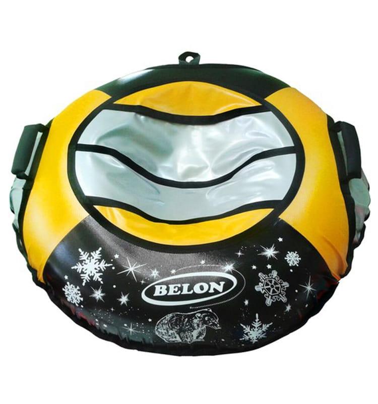 Тюбинг Belon Тент желтый  85 см - Ватрушки