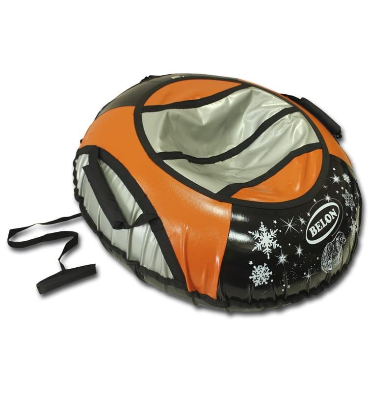 Тюбинг Belon Тент оранжевый  85 см - Ватрушки