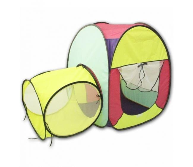 Палатка с тоннелем BELON Квадрат - 1 секция