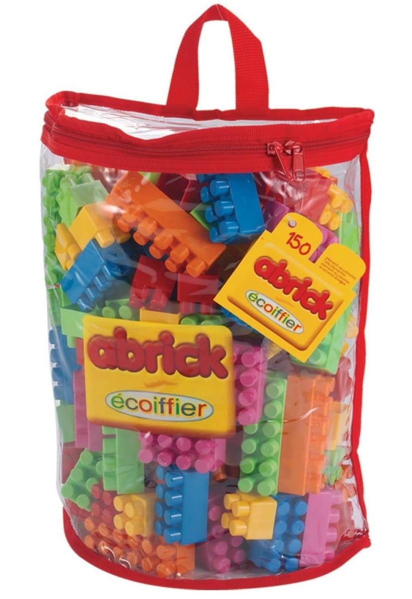Конструктор Abrick Кубики в сумочке - 150 деталей (ECOIFFIER)