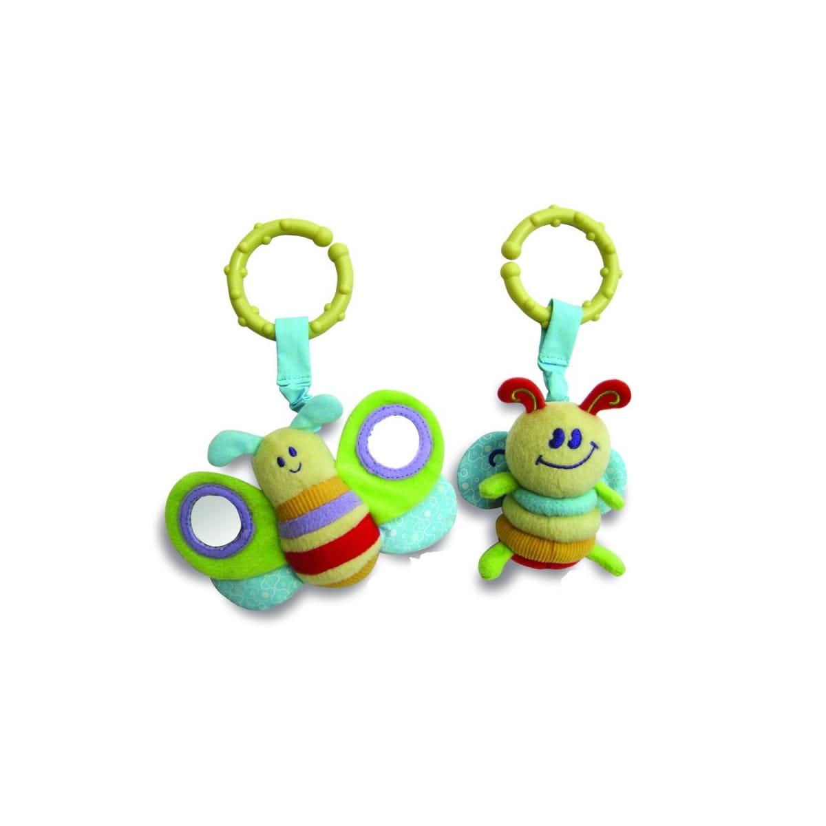 Мягкая игрушка - подвеска LITTLE BIRD TOLD ME Бабочка и пчелка