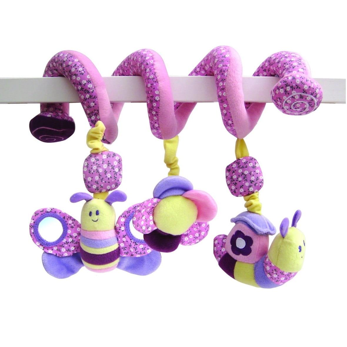 Мягкая подвеска  погремушка Little Bird Told Me Бабочка - Подвесные игрушки и мобили