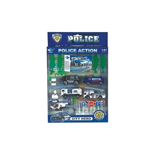 Игровой набор Рыжий кот И-4673 Полиция