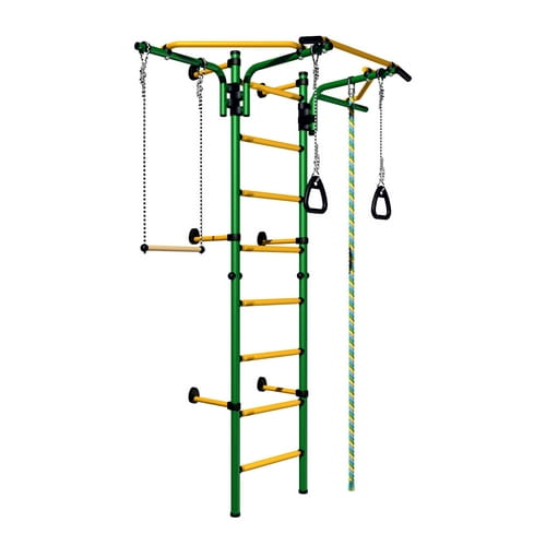 Детский спортивный комплекс Карусель Комета Next-2 - зелено-желтый (Romana)