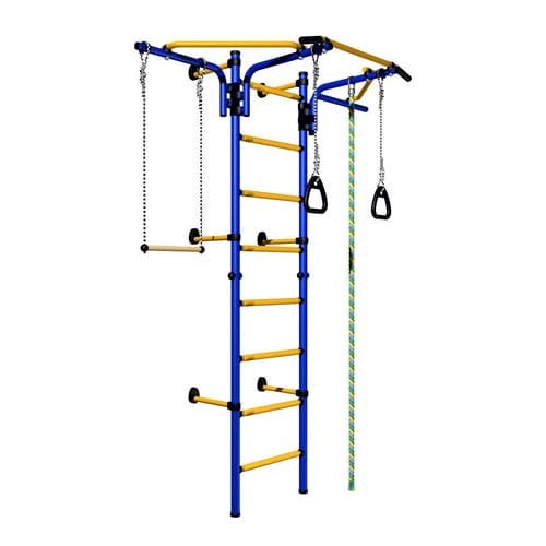 Детский спортивный комплекс Карусель Комета Next-2 - сине-желтый (Romana)