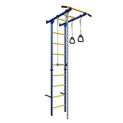 Детский спортивный комплекс Карусель 1 - сине-желтый (Romana)