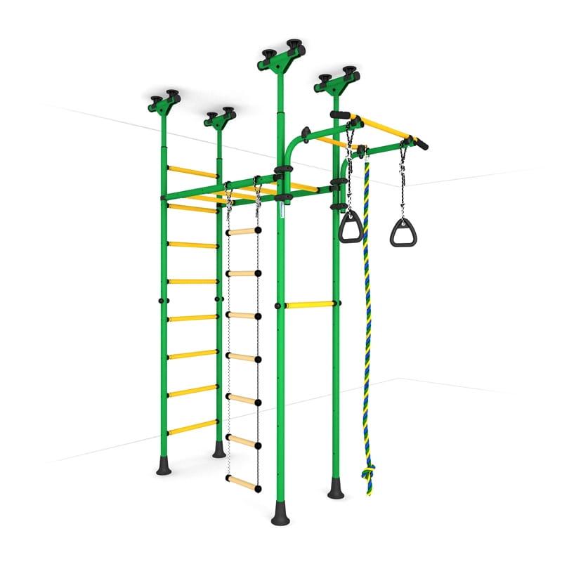Детский спортивный комплекс Карусель 70 - желто-зеленый (ROMANA)