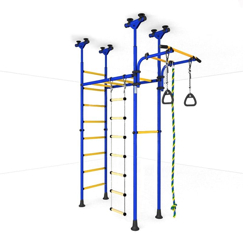 Детский спортивный комплекс Карусель 70 - сине-желтый (ROMANA)