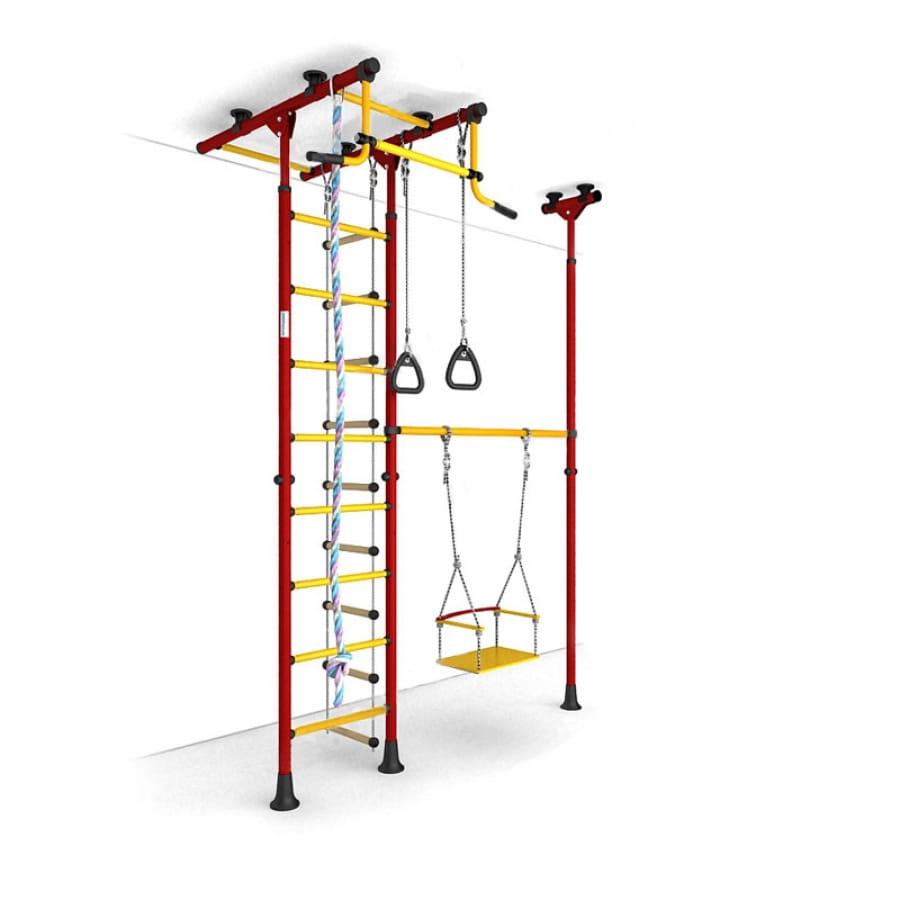 Детский спортивный комплекс Карусель 31 - красно-желтый (ROMANA)