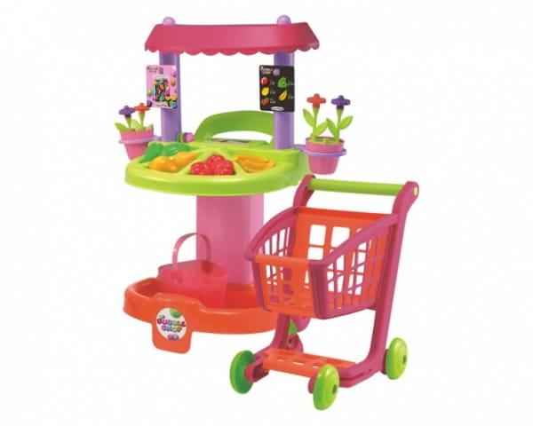Купить Магазин и тележка Ecoiffier в интернет магазине игрушек и детских товаров