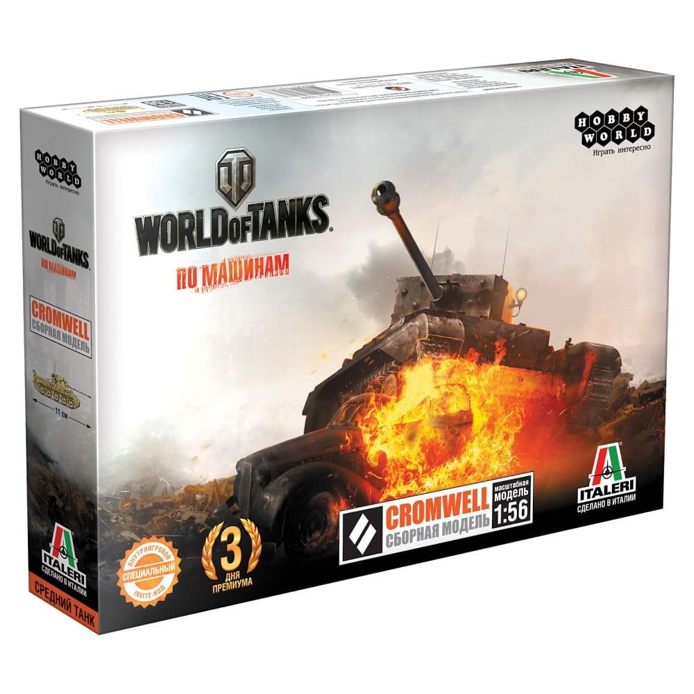 Сборная модель HOBBY WORLD World of Tanks Cromwell 1:56