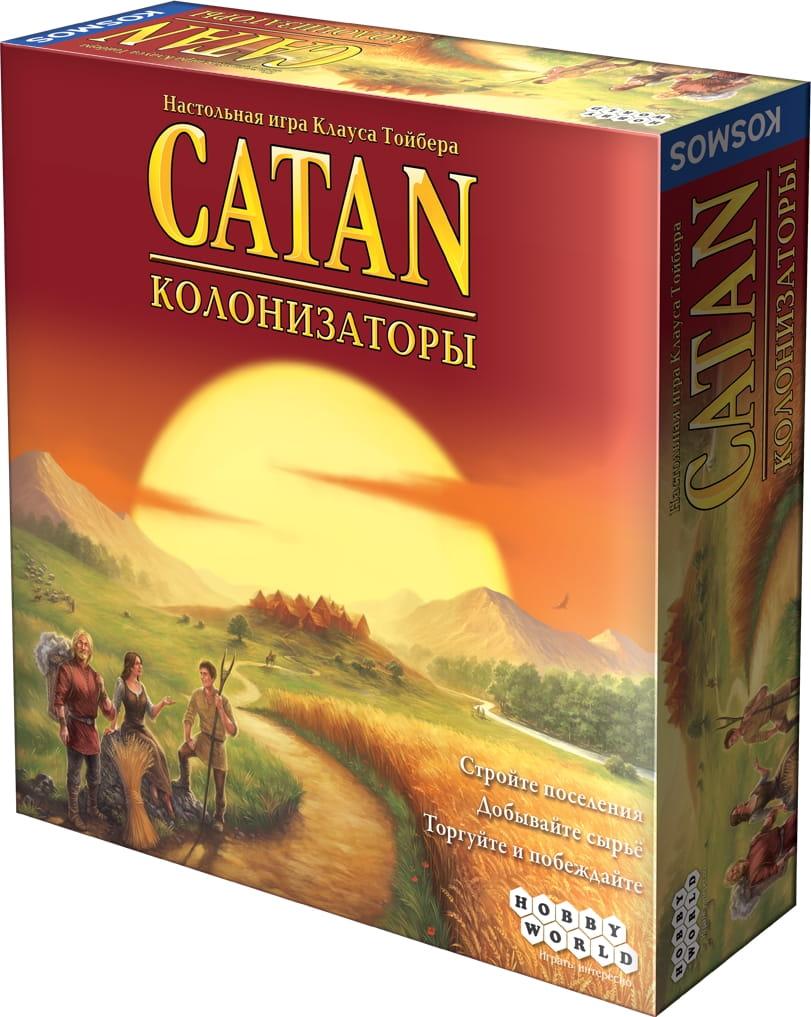 Настольная игра Hobby World 1576 Колонизаторы (4-е русское издание)