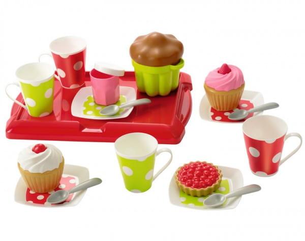 Игровой набор Ecoiffier 2611 Завтрак на подносе