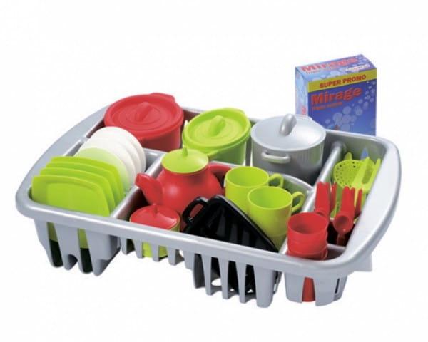 Игровой набор посудки Ecoiffier 1210