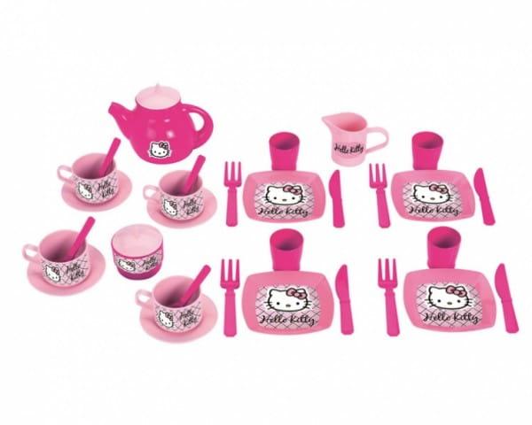 Игровой набор посудки Ecoiffier 2609 Hello Kitty