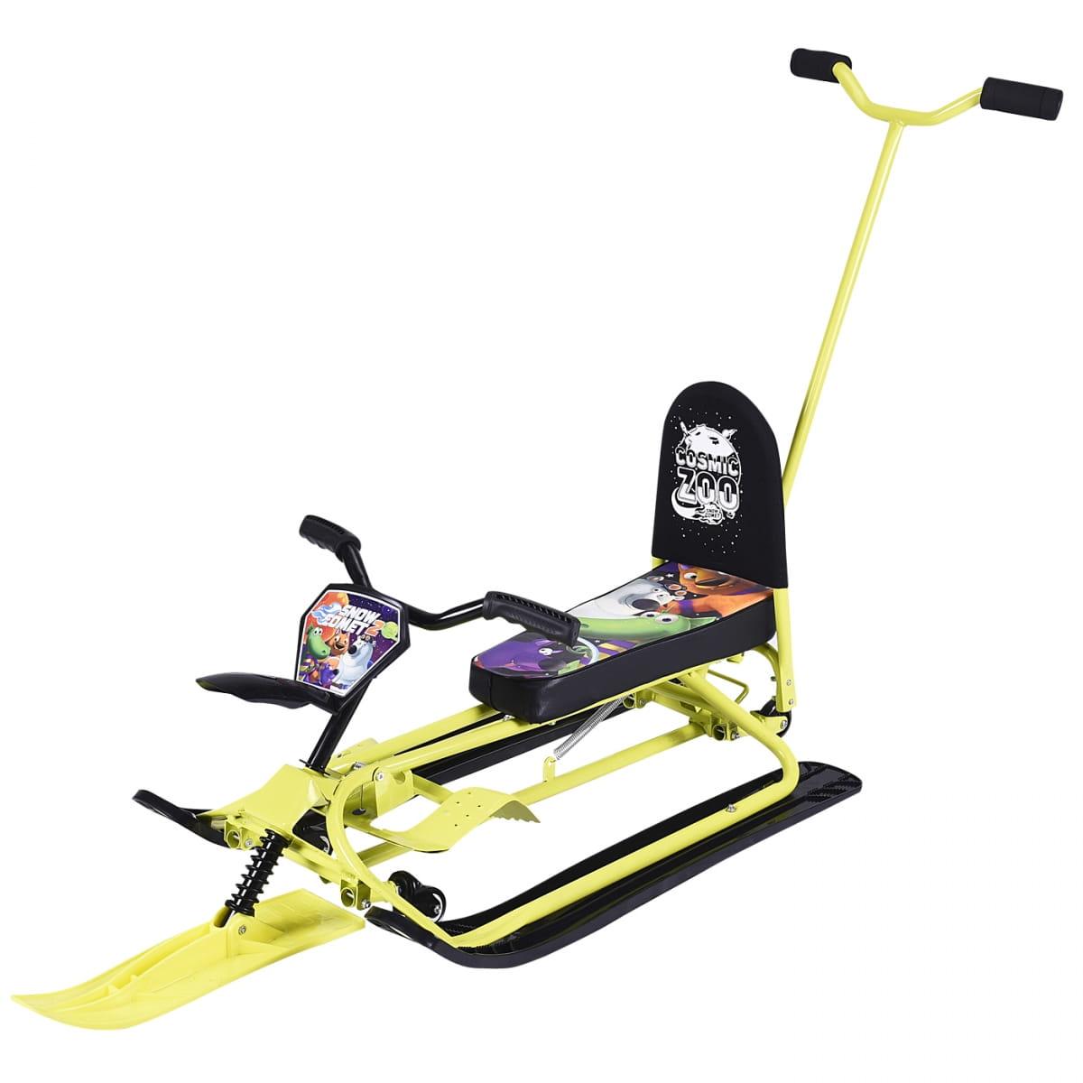 Детский снегокат-трансформер Small Rider 1373660 Snow Comet 2 Deluxe - лайм