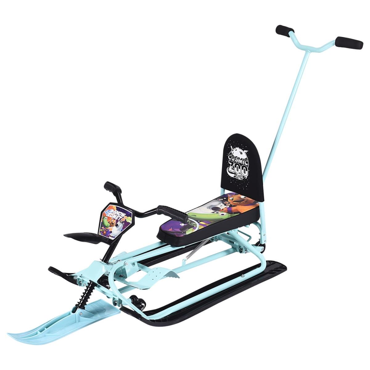 Детский снегокат-трансформер Small Rider 1373609 Snow Comet 2 Deluxe - аква