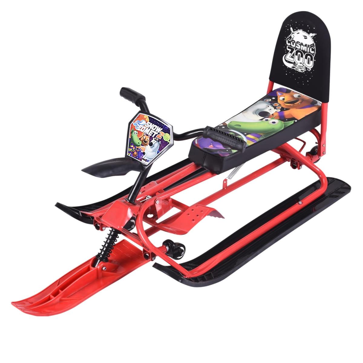 Детский снегокат-трансформер Small Rider Snow Comet 2  красный - Снегокаты и санки