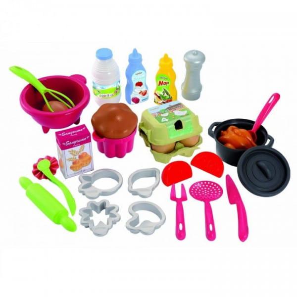 Набор посудки с продуктами Ecoiffier