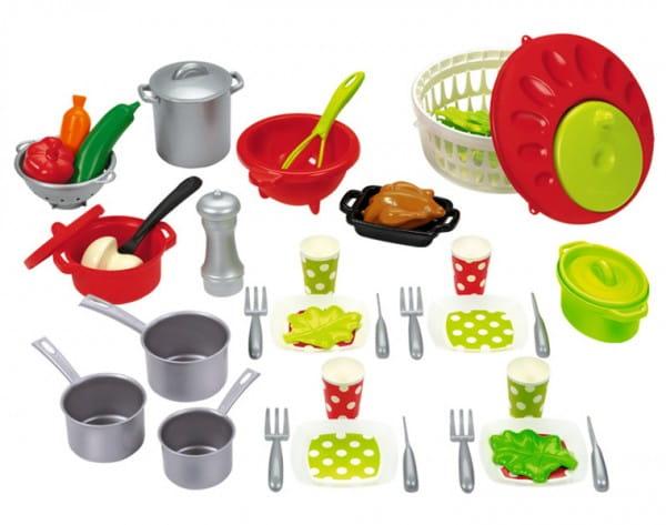Игровой набор посудки Ecoiffier Chef