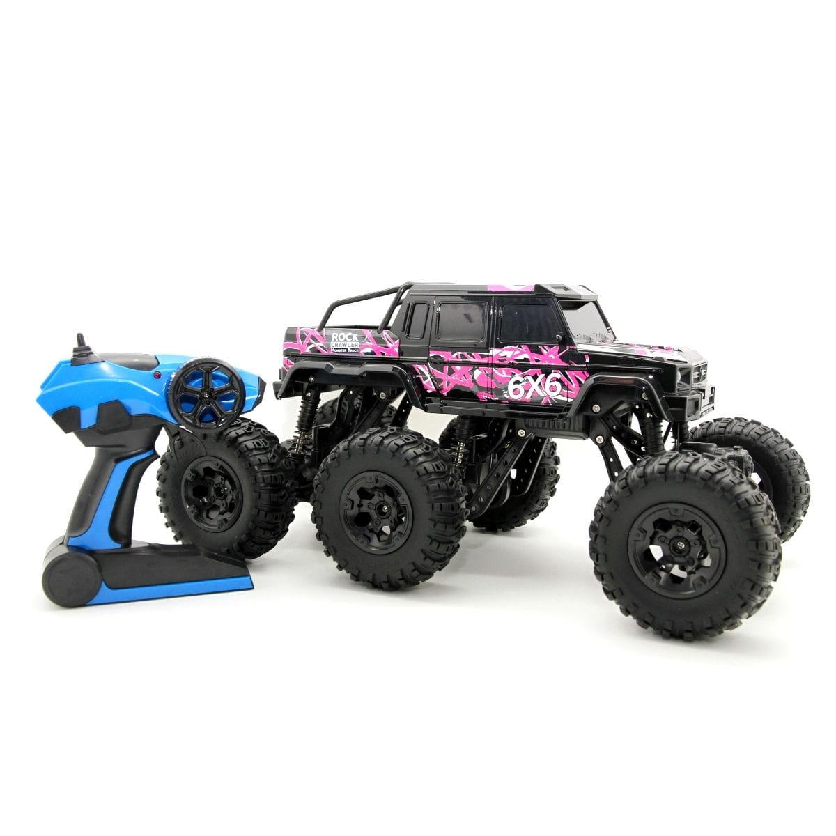 Радиоуправляемый внедорожник Balbi Клаулер 6х6  черный - Радиоуправляемые игрушки