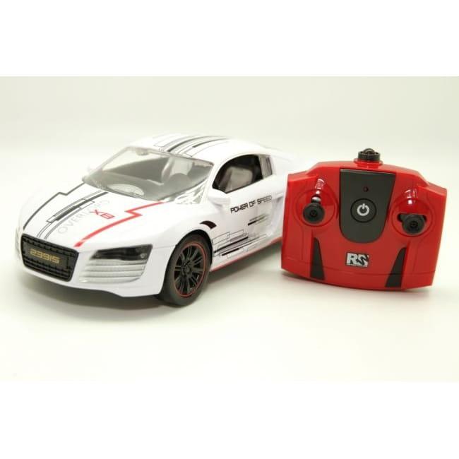 Радиоуправляемый спорткар Balbi 1:16  белый - Радиоуправляемые игрушки