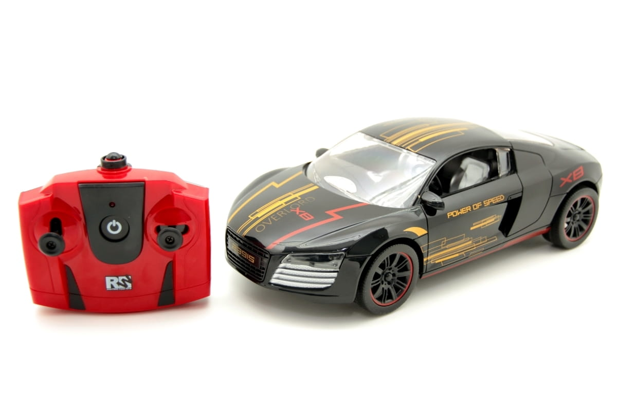 Радиоуправляемый спорткар Balbi 1:16  черный - Радиоуправляемые игрушки