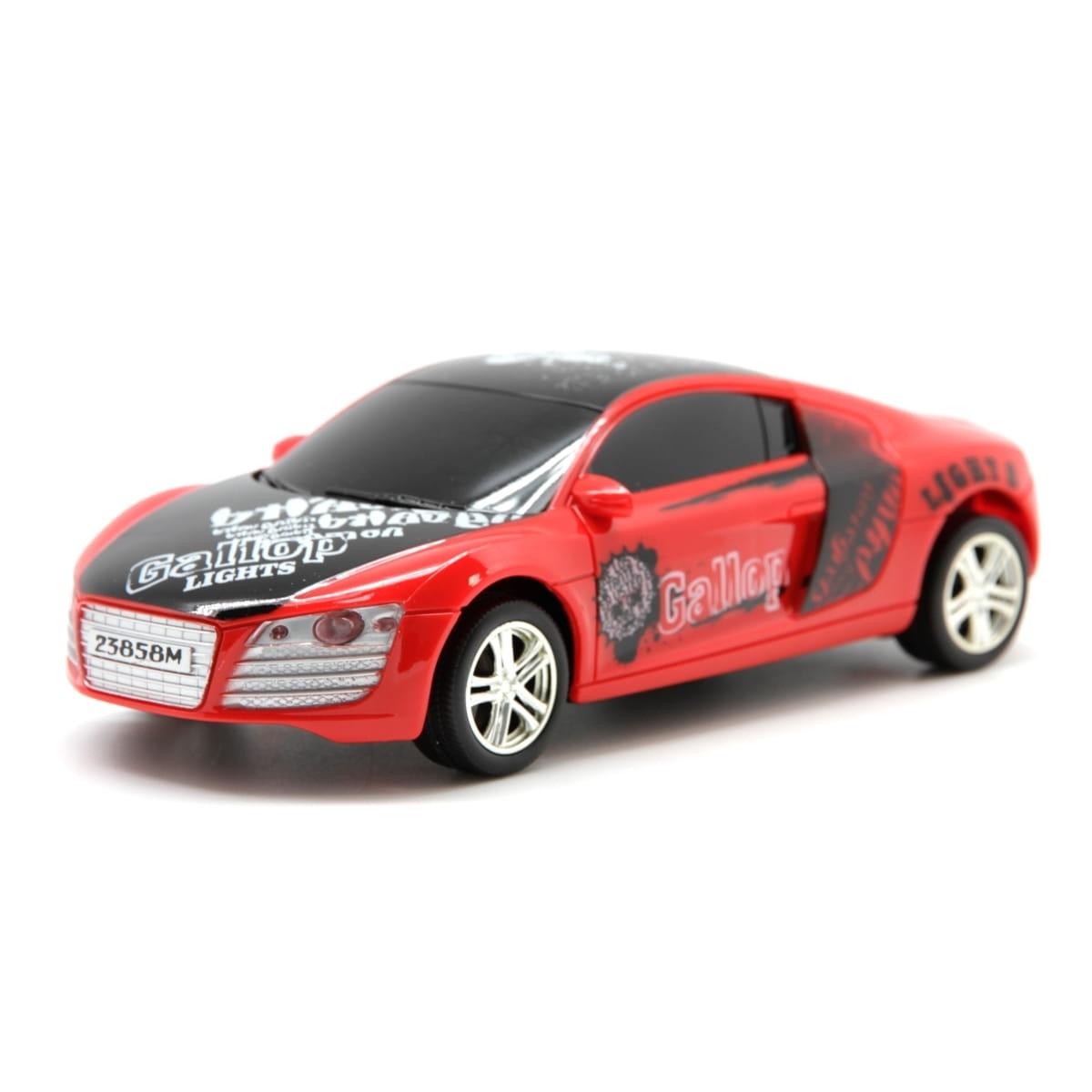 Радиоуправляемый спортивный автомобиль Balbi 1:24  красный - Радиоуправляемые игрушки