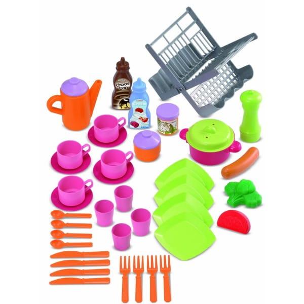 Сушилка и посуда Ecoiffier