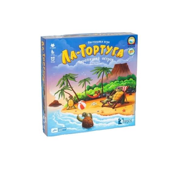 Настольная игра Cosmodrome Games Ла-Тортуга Черепаший остров 2 - Другие настольные игры